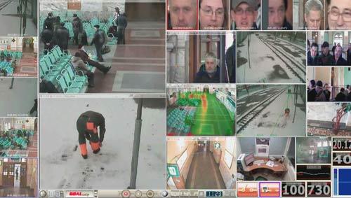 videoanalitica2_nestandartnoe_povedenie уделяется особое внимание новым только появившимся людям и машинам, а наибольший приоритет выделяется для их нестандартного поведения.