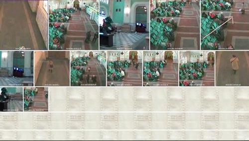 videoanalitica37.jpg Далее мы видим новый расклад сцены перед камерой, в которой одна из пассажирок покидает зал ожидания. Все информативно: идет целенаправленно - видимо, пришёл ее поезд, в руках сумка в виде пакета, никаких особых проблем на создает