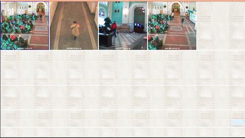 videoanalitica_cadr4.jpg Следующий сюжет в обзорной камере - в зал заходят новые люди. Потом женщина в белом ставит сумку и садится.