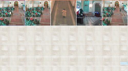 videoanalitica_cadr5.jpg Следующий сюжет в обзорной камере - в зал заходят новые люди. Потом женщина в белом ставит сумку и садится.