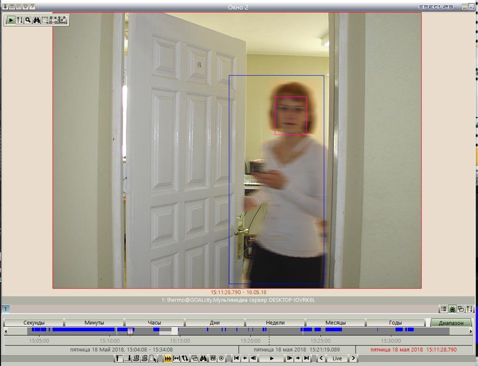 обзор с камер кадр